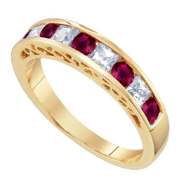 Picture of Gemstone Gold Ring
