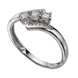 Picture of Three Stone Solitaire Ring - Grouped