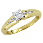 Picture of Modern Engagement Ring - Variant 2