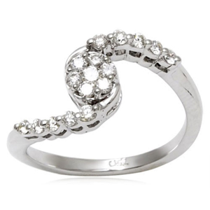 Picture of Three Stone Slim Ring