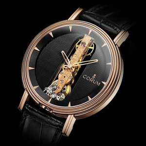 Picture of Gold Lux Men's Leather Watch