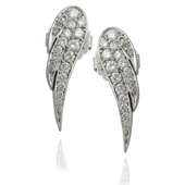 Picture of Angel Wings Diamond Earring Angel Wings Diamond Earring - Variant 2
