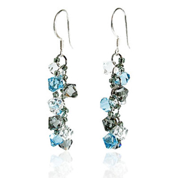 Picture of Stylish Crystal Earring - Mlti-variant