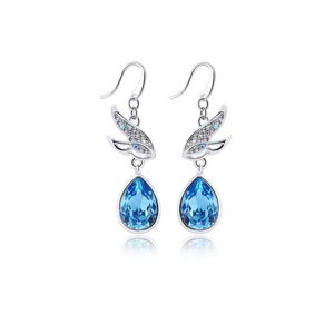 Picture of Blue Style Crystal Earring