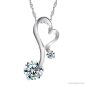 Picture of Classic Diamond Necklace - Variant 2