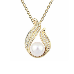 Picture of Golden Pearl Necklace