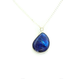 Picture of Blue Gemstone Necklace