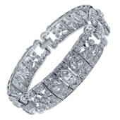 Picture of Classic Diamond Bracelet - Variant 2