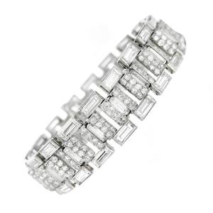 Picture of White Gold Diamond Bracelet
