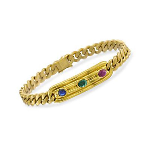 Picture of Golden Gemstone Bracelet