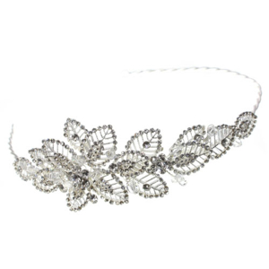 Picture of Designer Wedding Tiara - Grouped